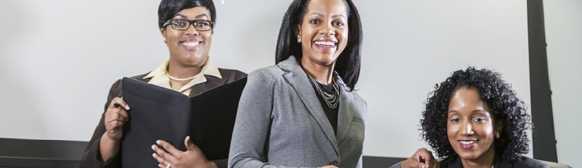three women business owners